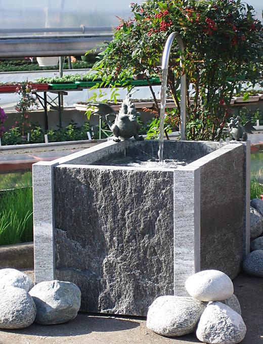 gartenbrunnen aus naturstein granit - design more info, Garten und erstellen
